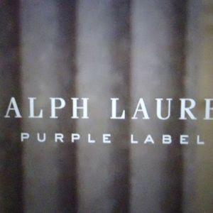 Ralph Lauren Purple Label Mens Linen Shirt